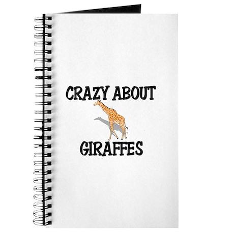 Crazy About Giraffes Journal