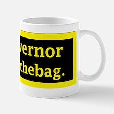 My Governor is a Douchebag. Mug