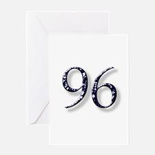 96 smokin joe Greeting Card
