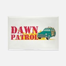 Dawn Patrol Rectangle Magnet