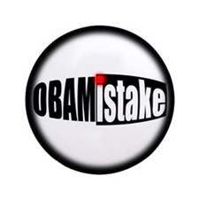 """Obamistake 3.5"""" Button (100 pack)"""