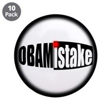 "Obamistake 3.5"" Button (10 pack)"