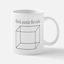 Think outside the cube Mug
