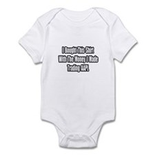 """Trading AAPL"" Infant Bodysuit"