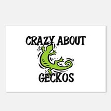Crazy About Geckos Postcards (Package of 8)