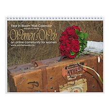 Women's Web Year in Bloom Wall Calendar