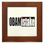 Obamistake Framed Tile