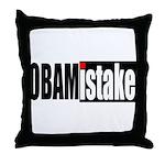 Obamistake Throw Pillow