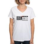Obamistake Women's V-Neck T-Shirt