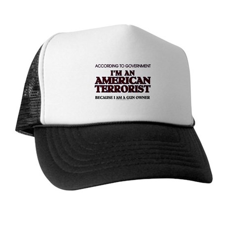 American Terrorist Trucker Hat