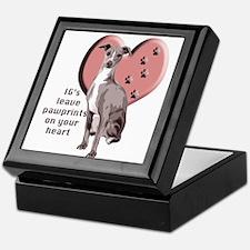 Italian Greyhound Mothers Day Keepsake Box