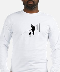 Barack Obama + Bo Running Long Sleeve T-Shirt
