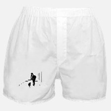 Barack Obama + Bo Running Boxer Shorts
