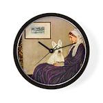 Whistlers / Scottie (w) Wall Clock