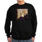 Whistlers / Scottie (w) Sweatshirt (dark)