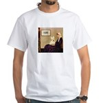 Whistlers / Scottie (w) White T-Shirt