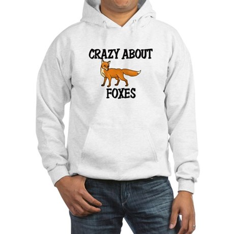 Crazy About Foxes Hooded Sweatshirt
