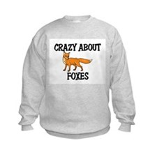 Crazy About Foxes Sweatshirt