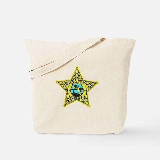Florida Sheriff Tote Bag