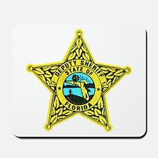 Florida Sheriff Mousepad