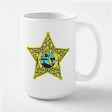 Florida Sheriff Large Mug