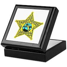 Florida Sheriff Keepsake Box