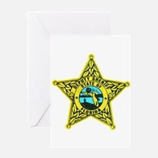 Florida Sheriff Greeting Card