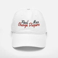 Real Men Change Diapers Baseball Baseball Cap