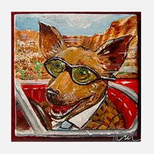 Maury the Chihuahua Tile Coaster