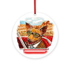 Maury the Chihuahua Ornament (Round)