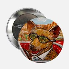 """Maury the Chihuahua 2.25"""" Button"""