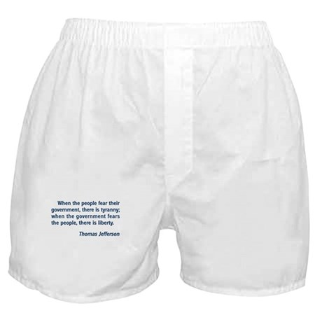 Tyranny / Liberty Boxer Shorts