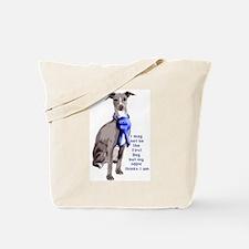 First dog IG Tote Bag