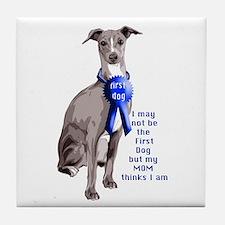 First dog IG Tile Coaster