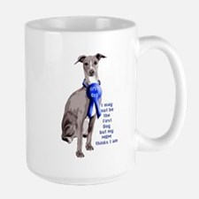 First dog IG Large Mug