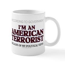 American Terrorist Political Mug