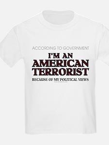 American Terrorist Political T-Shirt