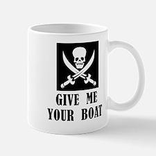 Give Me Your Boat Mug