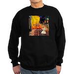 Cafe / Scottie (w) Sweatshirt (dark)
