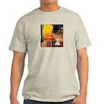 Cafe / Scottie (w) Light T-Shirt