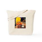 Cafe / Scottie (w) Tote Bag