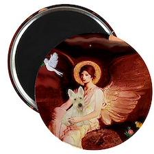 Angel / Scottie (w) Magnet