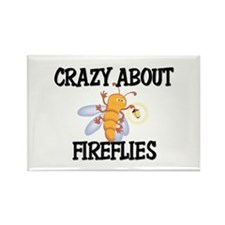 Crazy About Fireflies Rectangle Magnet