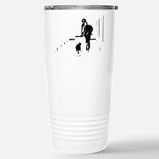 Barack Obama + Bo Running Travel Mug