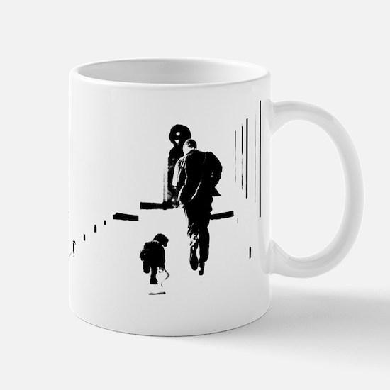 Barack Obama + Bo Running Mug
