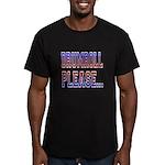 Drumroll Please Men's Fitted T-Shirt (dark)