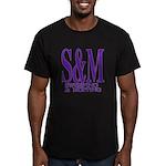 S&M Men's Fitted T-Shirt (dark)