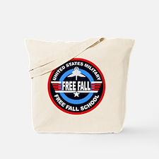 Military Free Fall Tote Bag