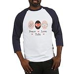 Peace Love Tofu Baseball Jersey