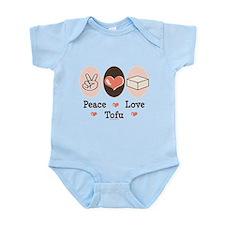 Peace Love Tofu Infant Bodysuit